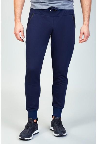 AVVA Lacivert Erkek Düz Slim Fit Jogging Pantolon A82Y3406