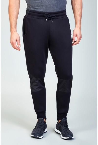 AVVA Siyah Erkek Düz Slim Fit Jogging Pantolon A82Y3413