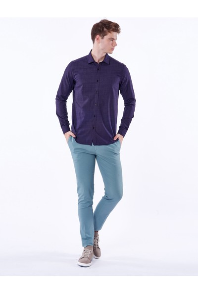Dufy Erkek Gömlek - Ekstra Slim Fit
