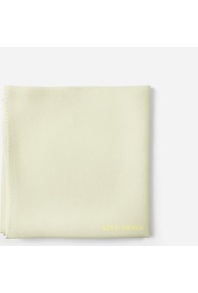 Sedef Fildişi Rengi Şifon Şal Sedef 72x200