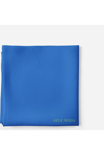 Sedef Mavi Şifon Şal Sedef 72x200