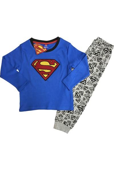 Marvel Superman Eşofman Takım (4,5,6,7,8,9 Yaş) %100 MARVEL Lisanslı - 5408