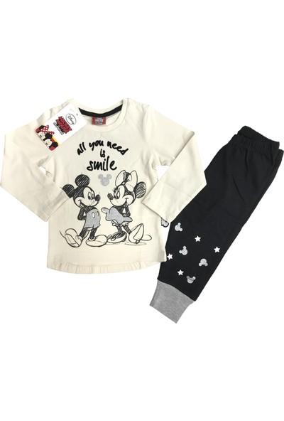 Disney Minnie Mouse Eşofman Takım %100 Disney Lisanslı - 5409
