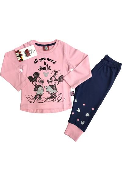 Disney Minnie Mouse Eşofman Takım %100 Disney Lisanslı - 5410