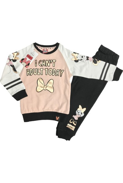 Disney Minnie Mouse Eşofman Takım %100 Disney Lisanslı - 5411