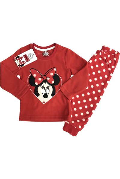 Disney Minnie Mouse Polar Eşofman Takım %100 Disney Lisanslı - 5413
