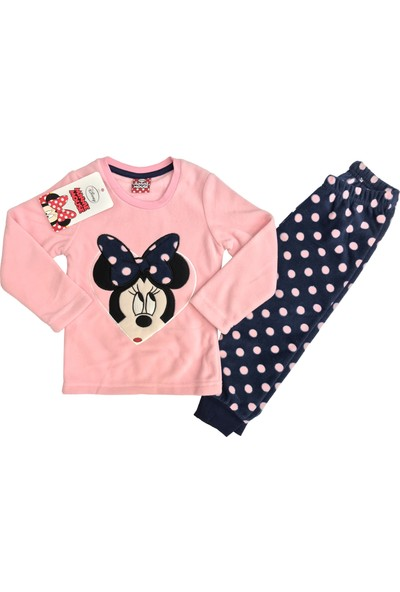 Disney Minnie Mouse Polar Eşofman Takım %100 Disney Lisanslı - 5414