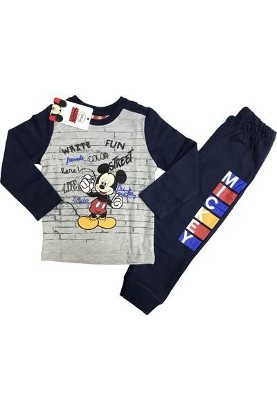 Disney Mickey Mouse Eşofman Takım %100 Disney Lisanslı - 5415