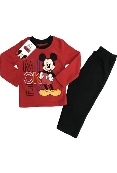 Disney Mickey Mouse Polar Eşofman Takım %100 Disney Lisanslı - 5419