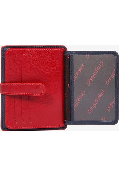 Cengiz Pakel Erkek Deri Kredi Kartlık Cüzdan Modelleri 2453