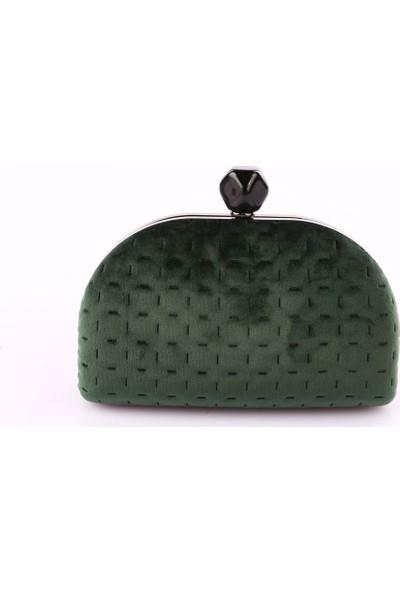 Matmazel 182Lf574 Kadın Abiye Çanta Yeşil