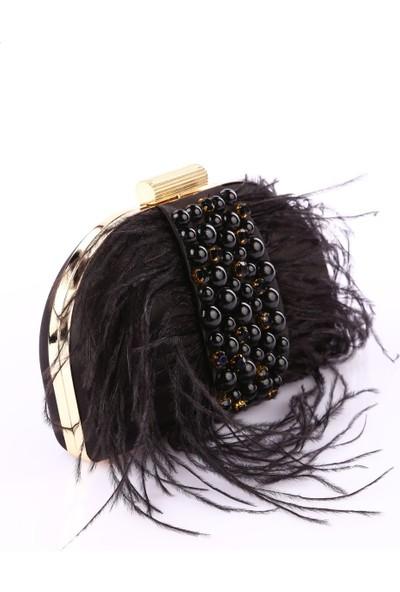 Matmazel 182Lf576 Kadın Abiye Çanta Siyah