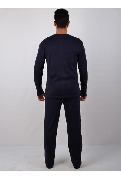 Falkom Erkek Uzun Kol Pijama Takımı