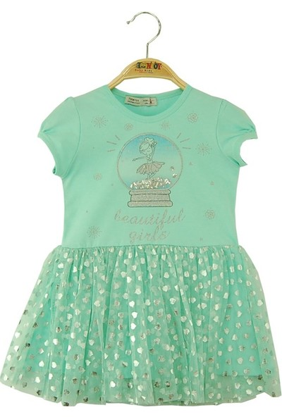 Toontoy Kız Çocuk Elbise