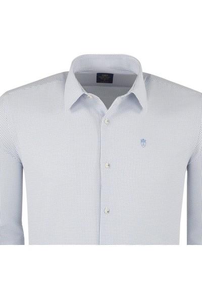 Sabri Özel Erkek Uzun Kollu Gömlek 00203
