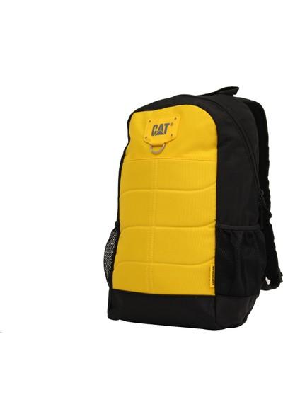 Cat 83431-12-Srs Caterpıllar Sarı-Siyah Polyester Kumaş Sırt Çantası