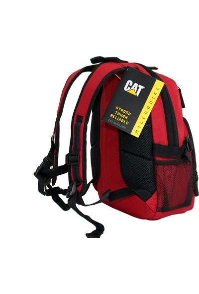 Cat 83438-34-K Caterpillar Kırmızı Küçük Sırt Çantası