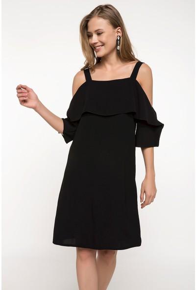 Defacto Fırfır Detaylı Elbise