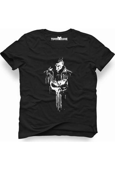 Tshirthane Punisher Siyah Erkek T-Shirt