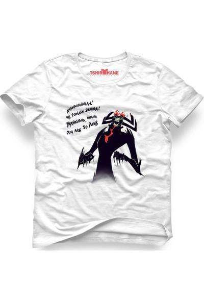 Tshirthane Samuray Jack Samurai Jack Beyaz Erkek T-Shirt