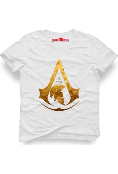 Tshirthane Assassin'S Creed Odyssey Beyaz Erkek T-Shirt