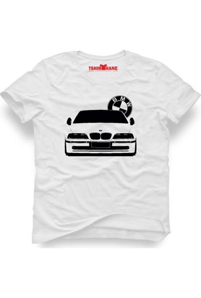 Tshirthane Bmw Bmw Beyaz Erkek T-Shirt