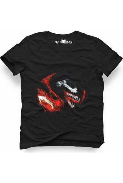 Tshirthane Venom 2 Siyah Erkek T-Shirt