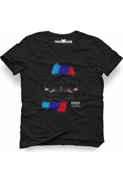 Tshirthane Bmw Siyah Erkek T-Shirt