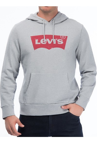 Levi's Erkek Sweat Graphic Po Hoody - G 19622-0008