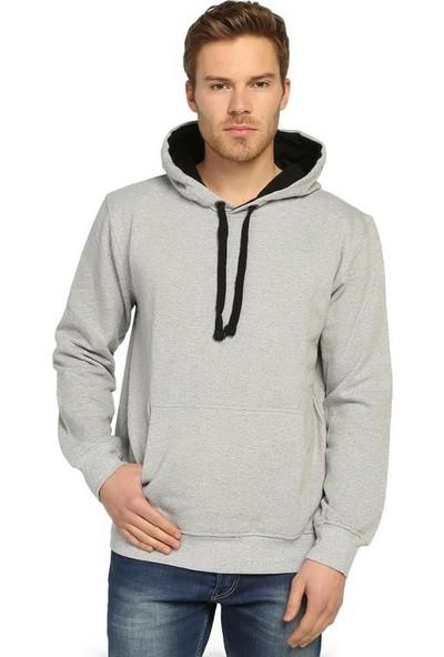 Bant Giyim 5 Renk Kapüşonlu Erkek Sweatshirt Hoodie