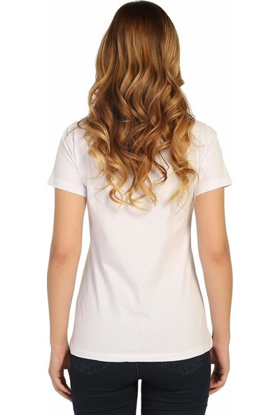 Bant Giyim Küçük Prens Beyaz Kadın T-Shirt
