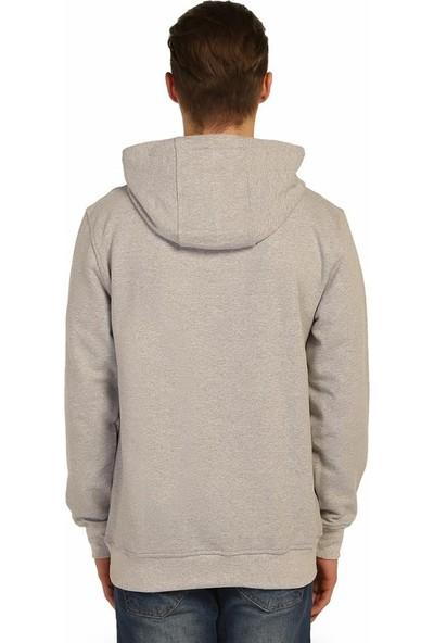 Bant Giyim Breaking Bad Gri Kapüşonlu Erkek Sweatshirt Hoodie