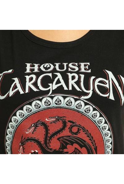 Bant Giyim Game Of Thrones Siyah Kadın T-Shirt