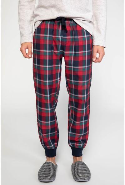 Defacto Erkek Kareli Pijama Altı