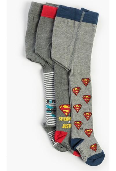 Superman Bebek 3'lü Külotlu Çorap 13662