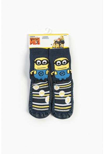 Minions Bebek Patikli Çorap 13748