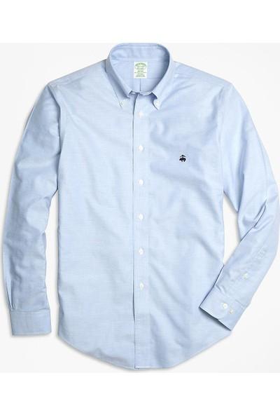 Brooks Brothers Non-Iron Milano Kesim Oxford Gömlek