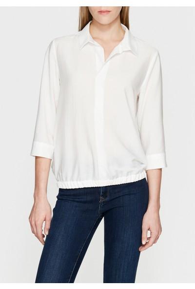 Mavi Beyaz Bluz