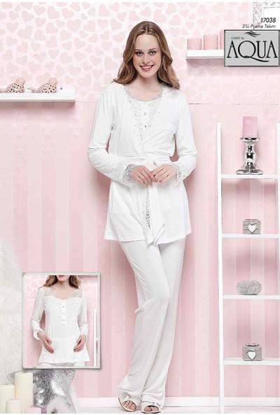 Cossy By Aqua 17038 Kadın 3 Lü Pijama Takımı