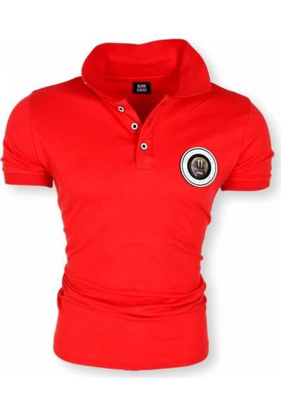 Black Kavier 856 Slim Fit Polo Yaka Kırmızı