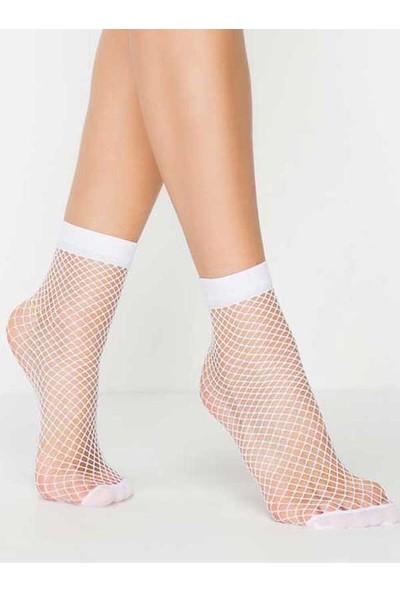 Mite Love İri File Soket Çorap 8 Renk
