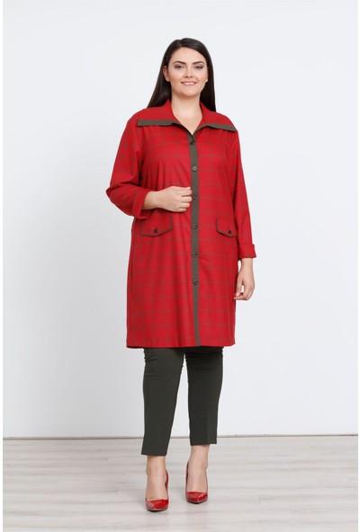 Moda İlgi Simore Tunik Kırmızı