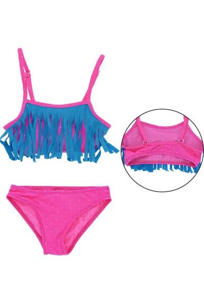 Asmay Kız Çocuk Bikini Mayo 1-12 Yaş 7901-01