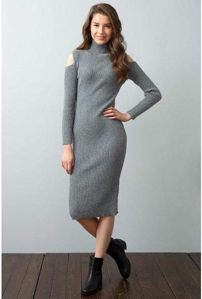 U.S. Polo Assn. Triko Elbise | 50194323-Vr086