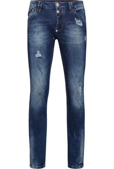 Philipp Plein Jeans Erkek Kot Pantolon A18C Mdt0941 Pde004N 08Bw