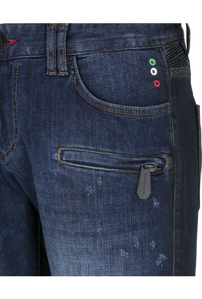 Philipp Plein Jeans Erkek Kot Pantolon A18C Mdt1251 Pde004N 10Dn