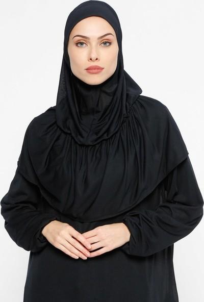 Hal-İ Niyaz Pratik Çantalı Namaz Elbises - Lacivert