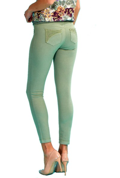 Guitar Kadın 18274-H Yeşil Pantolon