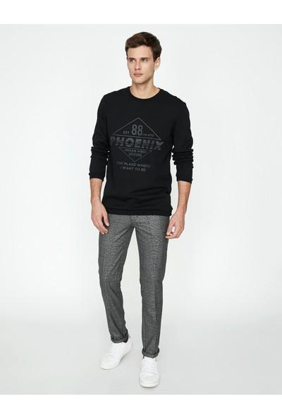 Koton Erkek Yazılı Baskılı T-Shirt