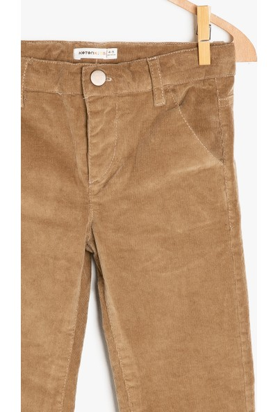 Koton Erkek Çocuk Cep Detaylı Pantolon